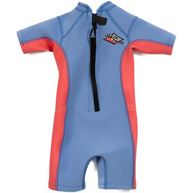 Rip Curl Omega SS Spring Suit Kids, blauw
